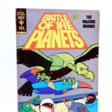 Cómics: BATTLE OF THE PLANETS 5. THE VULTURE MENACE (VVAA) GOLD COMICS, 1980. FN/VF. Lote 133889537