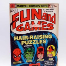 Cómics: MARVEL FUN AND GAMES 8. ORIGINAL USA (MICHELINIE / MANTLO / BINGHAM) MARVEL, 1980. FN/VF. Lote 133889865