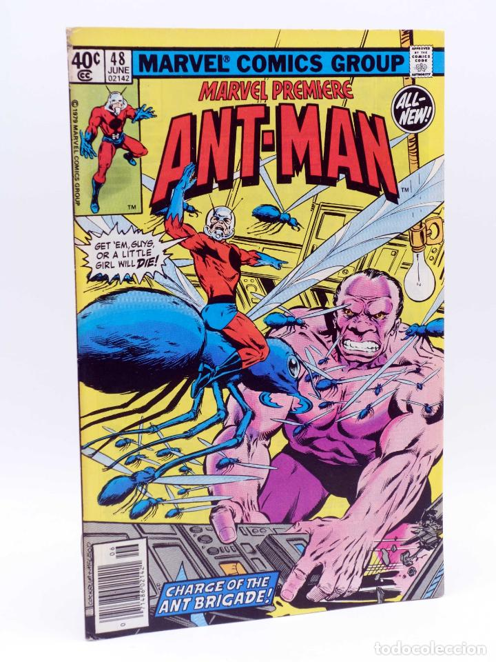 Cómics: MARVEL PREMIERE 48. ANT-MAN (David Michelinie / John Byrne) Marvel, 1979. FN/VF - Foto 1 - 133889901