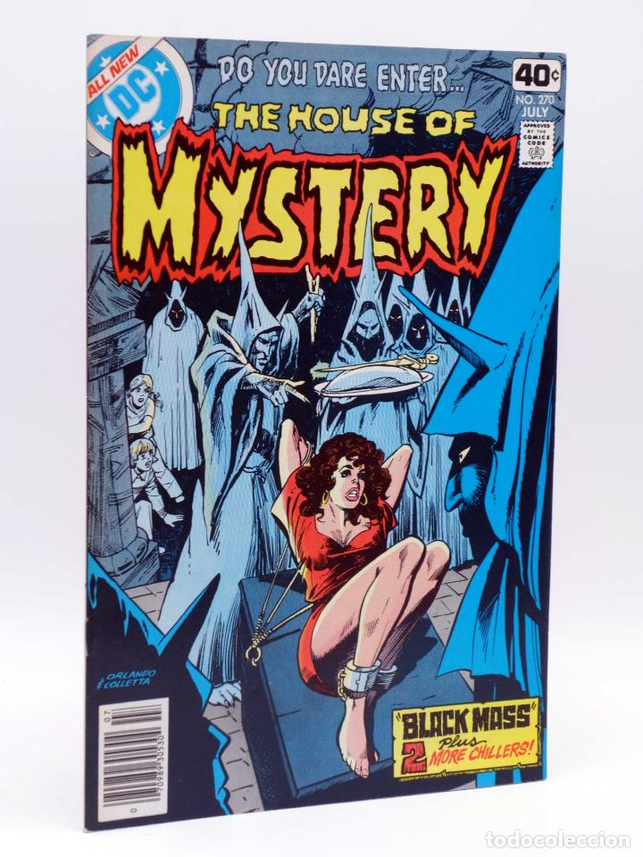 THE HOUSE OF MYSTERY 270. BLACK MASS (VVAA) DC COMICS, 1979. FN/VF (Tebeos y Comics - Comics Lengua Extranjera - Comics USA)