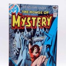 Cómics: THE HOUSE OF MYSTERY 270. BLACK MASS (VVAA) DC, 1979. FN/VF. Lote 133890001
