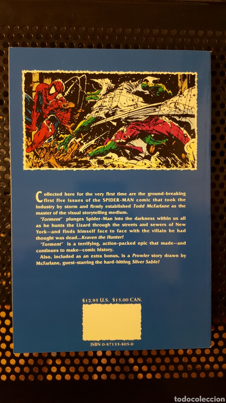 Cómics: Comic - Spider-Man Torment 1992 TPB softcover paperback 1st first print Todd McFarlane - Spiderman - Foto 2 - 133899358