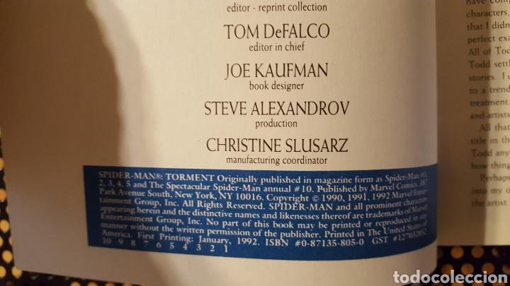 Cómics: Comic - Spider-Man Torment 1992 TPB softcover paperback 1st first print Todd McFarlane - Spiderman - Foto 3 - 133899358