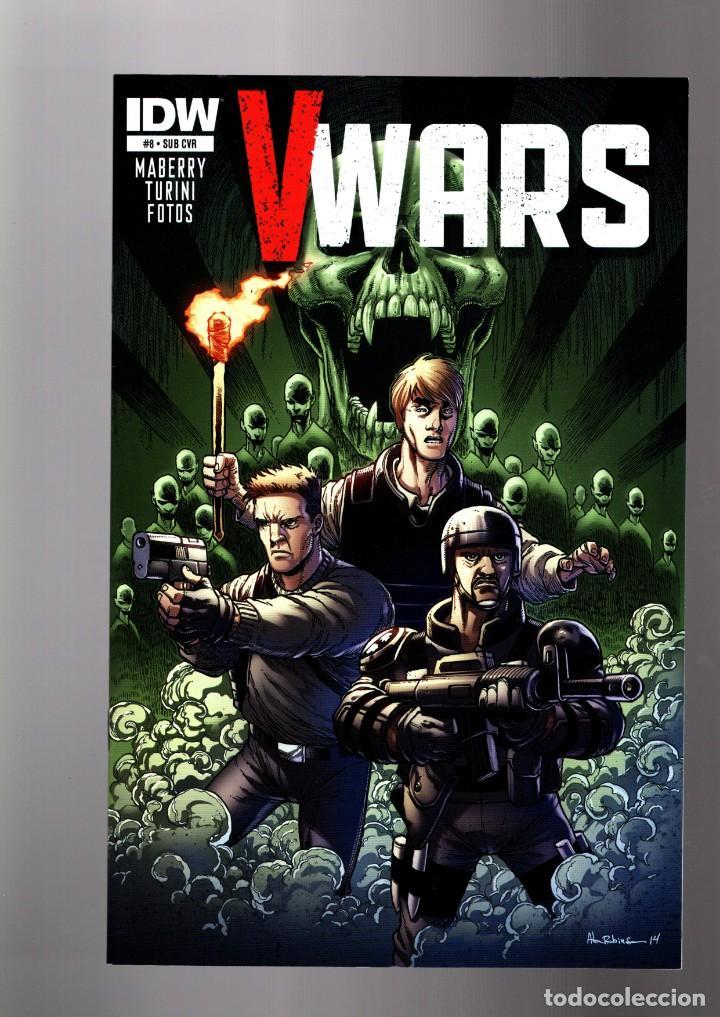 V WARS 8 - IDW 2014 VFN/NM VARIANT COVER (Tebeos y Comics - Comics Lengua Extranjera - Comics USA)