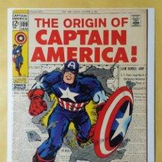 Cómics: CAPTAIN AMERICA 109. COMIC USA CAPITAN AMERICA. MARVEL 1969.. Lote 134056354