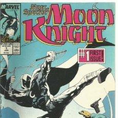Cómics: MOON KNIGHT VOL 3 #1 MARVEL 1989 VF. Lote 134063562