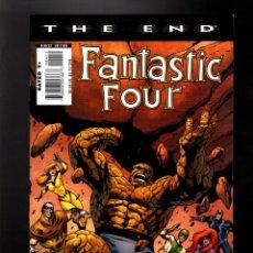 Cómics: FANTASTIC FOUR THE END 4 - MARVEL 2007 VFN+ / INHUMANS / ALAN DAVIS. Lote 134064410