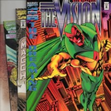 Cómics: THE VISION. THE DREAMING.COMPLETE SERIES (4 NºS MARVEL 1994) VF. Lote 134065310