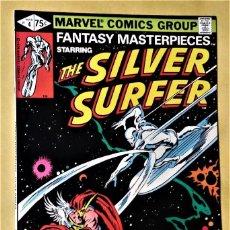 Cómics: FANTASY MASTERPIECES 4. SILVER SURFER. COMIC USA MARVEL 1979. EXCELENTE ESTADO / COMO NUEVO.. Lote 134868426