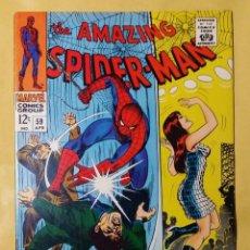 Cómics: AMAZING SPIDER-MAN 59. MARY JANE. COMIC USA SPIDERMAN. MUY BUEN / EXCELENTE ESTADO.. Lote 134960278