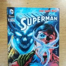 Cómics: SUPERMAN (2011) #8. Lote 135098490