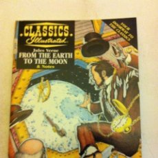 Cómics: CLASSICS ILLUSTRATED- - 1997 (4,99$) - MIDE 18X13 CM.- FROM THE EARTH TO THE MOON. Lote 135251158