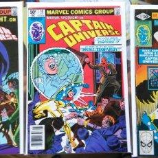 Cómics: CAPTAIN UNIVERSE; TRES NÚMEROS DEL MAESTRO STEVE DITKO, CREADOR DE SPIDERMAN. ORIGINAL USA. Lote 135465342