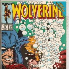 Cómics: WOLVERINE #19 MARVEL COMICS 1989 ACTS OF VENGEANCE FINE- (FIRST APPEARANCE) BANDERA. Lote 135475982