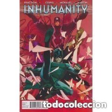 Cómics: INHUMANITY #1A (MARVEL 2013) VF COVER BY OLIVIER COIPEL . Lote 135512670