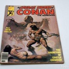 Cómics: THE SAVAGE SWORD OF CONAN Nº 12 JUNIO 1976. Lote 135709315