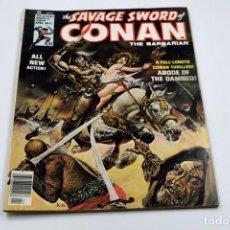 Cómics: THE SAVAGE SWORD OF CONAN Nº 11 ABRIL 1976. Lote 135709515