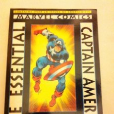 Cómics: CAPTAIN AMERICA - THE ESSENTIAL - 14,95$ - VOLUME 1- A ESTRENAR. Lote 135776138