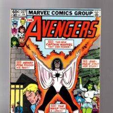 Cómics: AVENGERS 227 - MARVEL 1983 VG. Lote 135914302
