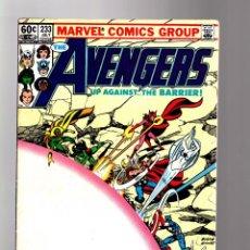Cómics: AVENGERS 233 - MARVEL 1983 FN / JOHN BYRNE / FANTASTIC FOUR. Lote 135915726
