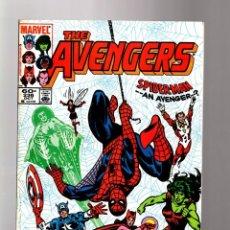 Cómics: AVENGERS 236 - MARVEL 1983 FN/VFN / AMAZING SPIDER-MAN ... AN AVENGER ?. Lote 135916446
