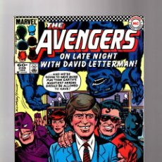 Cómics: AVENGERS 239 - MARVEL 1984 FN+ / LATE NIGHT WITH DAVID LETTERMAN. Lote 135916946