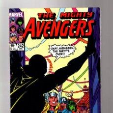Cómics: AVENGERS 242 - MARVEL 1984 FN. Lote 135917438
