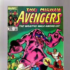 Cómics: AVENGERS 244 - MARVEL 1984 VFN- / VS THE WRAITHS. Lote 135917762