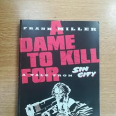 Cómics: A TALE FROM SIN CITY A DAME TO KILL FOR TPB (TITAN BOOKS). Lote 136118782