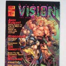 Cómics: MARVEL VISION # 11 (THE MARVEL FAN MAGAZINE USA) STAN LEE PRESENTS. Lote 136661386