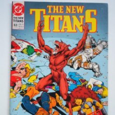 Cómics: THE NEW TITANS # 63 (DC COMICS) #63. Lote 136735666