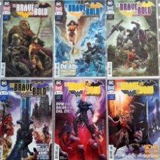 Cómics: BRAVE & BOLD BATMAN WONDER WOMAN. Lote 136819702