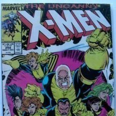Cómics: UNCANNY X-MEN # 254 FINE ALL NEW, ALL-DIFFERENT...HERE WE GO AGAIN! . Lote 136945298