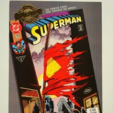Cómics: MILLENNIUM EDITION SUPERMAN (SUPERMAN # 75 THE DEATH OF SUPERMAN) (DC COMICS US) #75. Lote 137209238