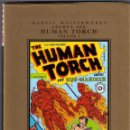 Cómics: MARVEL MASTERWORKS. GOLDEN AGE. THE HUMAN TORCH. TOMO 1. Lote 137382606