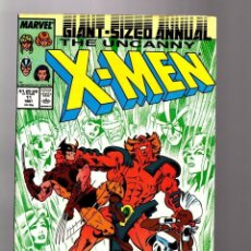 Cómics: UNCANNY X-MEN ANNUAL 11 - MARVEL 1987 / CAPTAIN BRITAIN / ALAN DAVIS. Lote 137479082