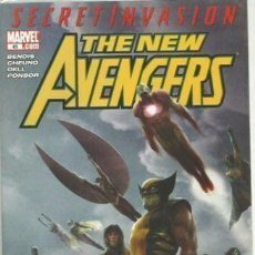 Cómics: NEW AVENGERS #45 (2005 1ST SERIES) VF+ NM SECRET INVASION TIE-IN -WRITTEN BY BRIAN MICHAEL BENDIS. . Lote 137743546