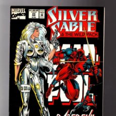 SILVER SABLE AND THE WILD PACK 23 - MARVEL 1994 FN+ / DAREDEVIL / DEADPOOL