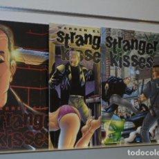 Cómics: STRANGER KISSES COMPLETA 3 NUMEROS EN INGLES WARREN ELLIS - AVATAR -. Lote 138116994
