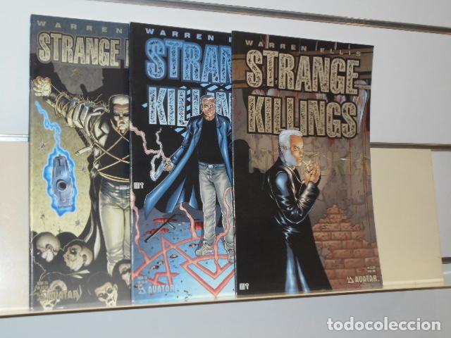 STRANGE KILLINGS COMPLETA 3 NUMEROS EN INGLES WARREN ELLIS - AVATAR - (Tebeos y Comics - Comics Lengua Extranjera - Comics USA)