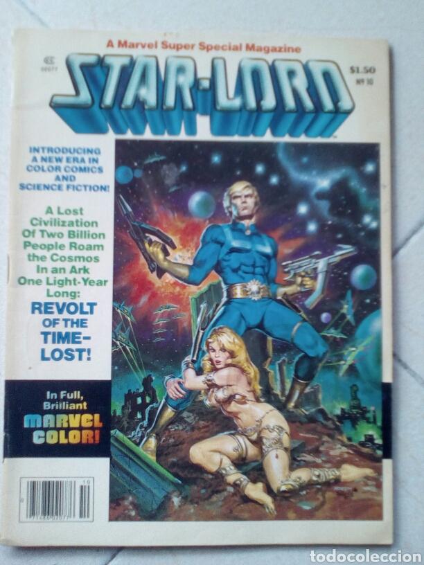 STAR-LORD MARVEL SUPER SPECIAL 10 (Tebeos y Comics - Comics Lengua Extranjera - Comics USA)