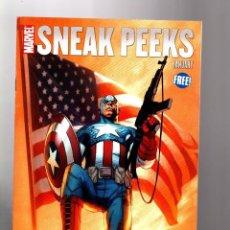 Cómics: US MARVEL: SNEAK PEEKS 1 - MARVEL 2011. MUY RARO.. Lote 138663390
