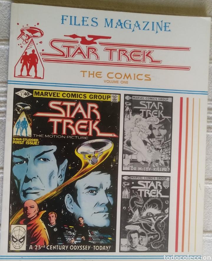 STAR TREK THE COMICS FILES MAGAZINE 1 (Tebeos y Comics - Comics Lengua Extranjera - Comics USA)