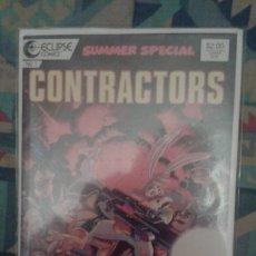 Cómics: SUMMER SPECIAL Nº1: CONTRACTORS: ECLIPSE COMICS. Lote 36583766