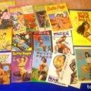 Cómics: BETTY PAGE - GRAN LOTE DE REVISTAS Y CÓMICS. Lote 139288086
