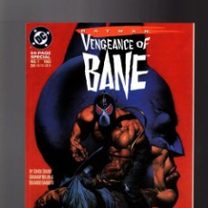 Cómics: BATMAN VENGEANCE OF BANE - DC 1993 VFN/NM. Lote 139806522