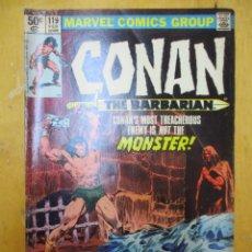 Cómics: COMIC USA - CONAN - Nº 119 - MARVEL COMICS GROUP. Lote 139892718
