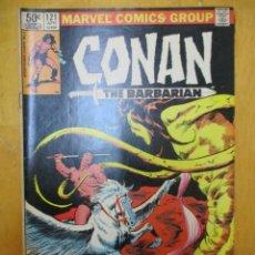 Cómics: COMIC USA - CONAN - Nº 121 - MARVEL COMICS GROUP. Lote 139893022