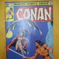 Cómics: COMIC USA - CONAN - Nº 147 - MARVEL COMICS GROUP. Lote 139893626
