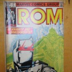 Cómics: COMIC USA - ROM - Nº 37 - MARVEL COMICS GROUP. Lote 139950254